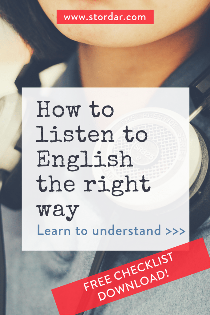 How to listen to English the right way | Smart English Learning