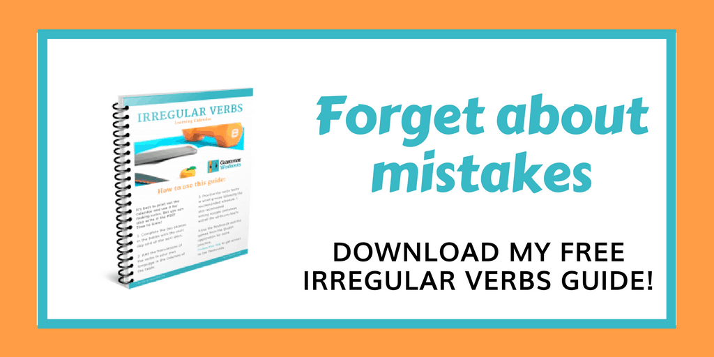 Learn Irregular Verbs the Clever Way | Smart English Learning