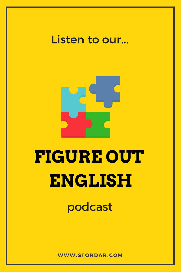 Figure Out English Podcast | Daria Storozhilova