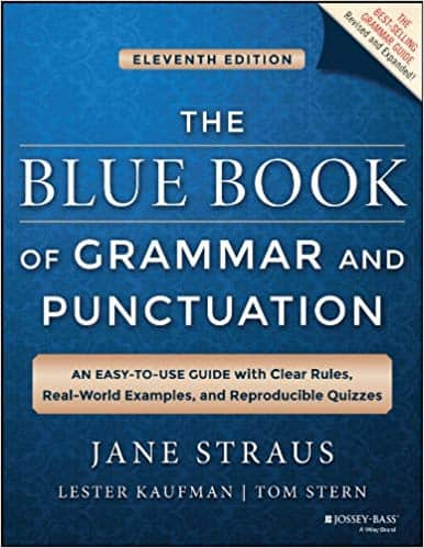 The Blue Book of Grammar and Punctuation | Best books for English grammar