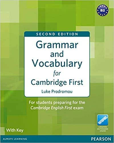 Grammar and Vocabulary for Cambridge First | Best books for English grammar