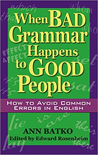 When bad grammar happens to good people | Best books for English grammar